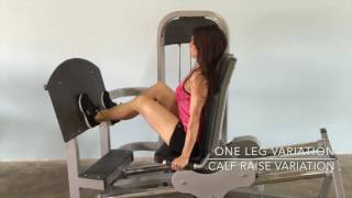 Muscle D Fitness Classic Seated Leg Press
