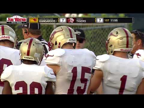 Trinity University Vs Austin College Football Game On 11/4/17, CityWide Sports Network, Full Game