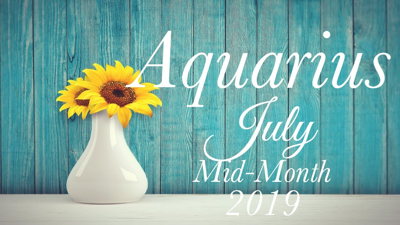 AQUARIUS MID-MONTH JULY 2019 | A DEEP SOUL TIED BEING CHALLENGED - Aquarius  Tarot Love Reading