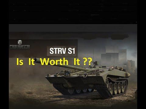 WOT Swedish Strv S1 Tank TD  Is It Worth It? Review & Gameplay