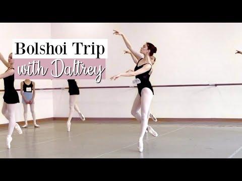 Bolshoi Trip with Daltrey & NEXT ROUND of Kathryn Morgan Scholarship