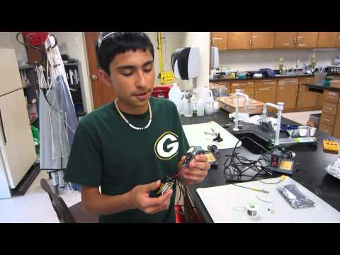 Enrique's Starter Project (TV-B-Gone) - 2014 Houston BSE