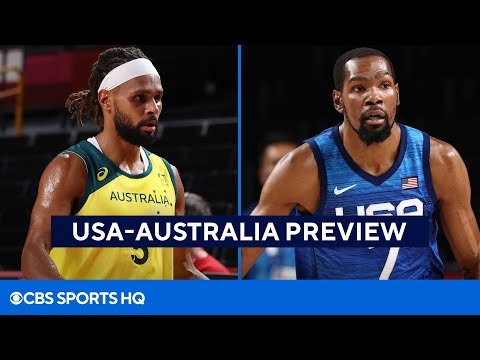 Tokyo Olympics: USA Basketball vs Australia Semifinals Betting Preview  CBS Sports HQ