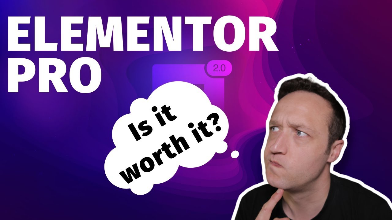 Is Elementor Pro Worth it? - YouTube