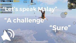 50% penonton tak akan faham bahasa ini tapi..IT'S A CHALLENGE | PUBG Mobile
