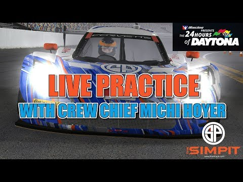 Round 2 - 24 Hours of Daytona - Practice with Crew Chief Michi Hoyer