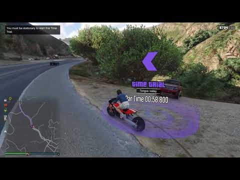 Tongva Valley Time Trial alternative route. Vagner & Hakuchou Drag