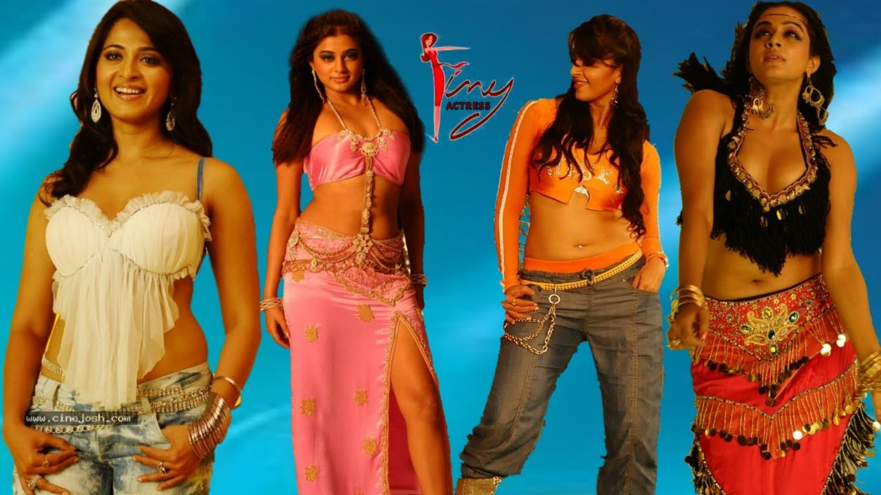 anushka & priyamani hot || Ragada Ragada song || I my actress
