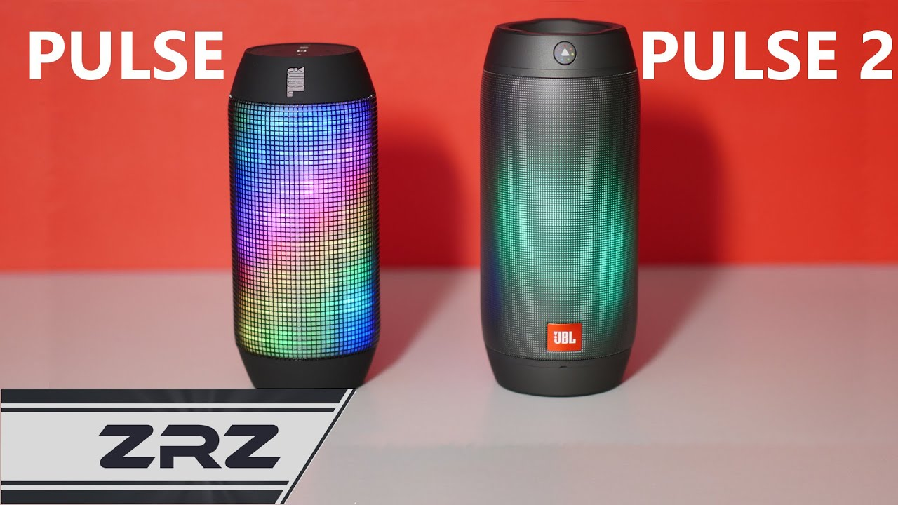 Jbl pulse vs pulse 2 a pulse 2 review zrz youtube for Housse jbl pulse 3