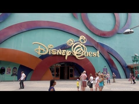 DisneyQuest Complete Walkthrough Tour Downtown Disney Walt Disney World