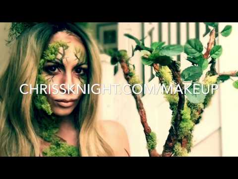 Mother Earth/Mother Nature Makeup Tutorial and How to Make A Tree Arm