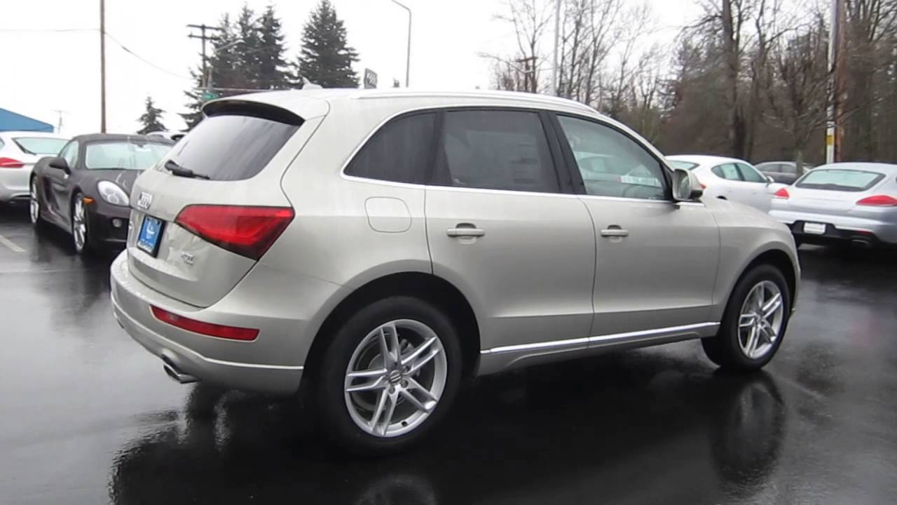2014 Audi Q5 Cuvee Silver Metallic Stock 109750 Walk