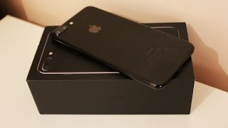 iPhone 7 Plus Jet Black - Unboxing [HD]