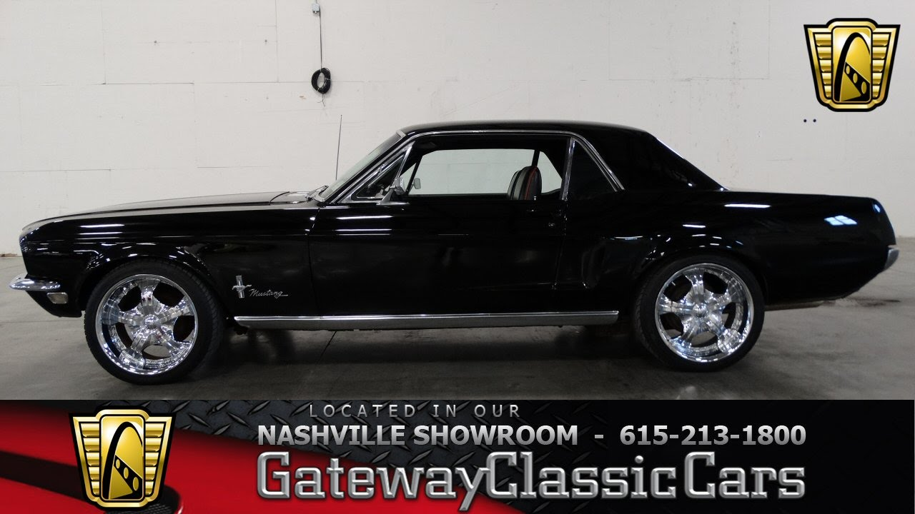 1968 Ford Mustang - Gateway Classic Cars of Nashville #71 ...1968 Mustang Coupe Black