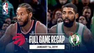 Full Game Recap: Raptors vs Celtics | Kyrie Irving Drops Career-High 18 Assists
