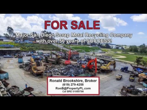 Metal Recycling Business For Sale