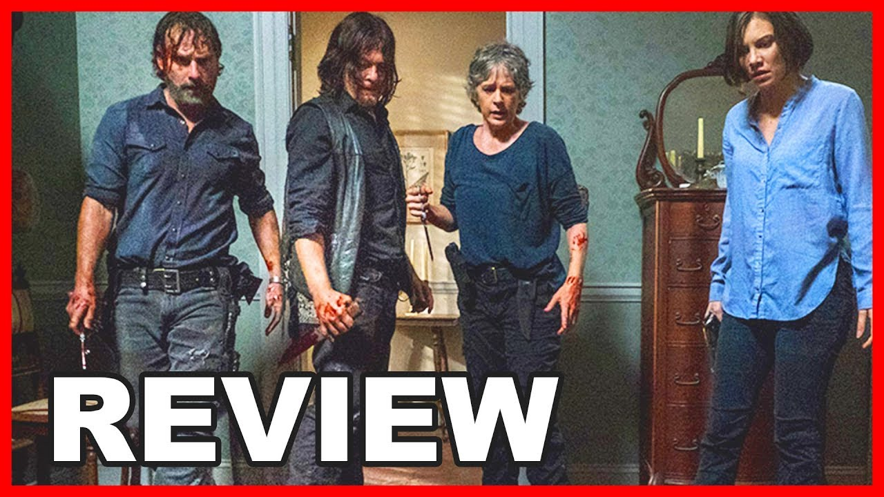 the walking dead staffel 8 folge 13 review auf deutsch serienheld youtube. Black Bedroom Furniture Sets. Home Design Ideas