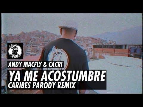 Arcangel - Me Acostumbre ft. Bad Bunny 🐰 Caribes Remix (Parodia) | Cacri y Andy Macfly