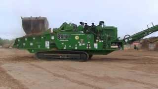 Bandit Beast Model 4680 Track Grinding Almond Trees