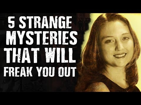 5 STRANGE MYSTERIES That will freak you out!