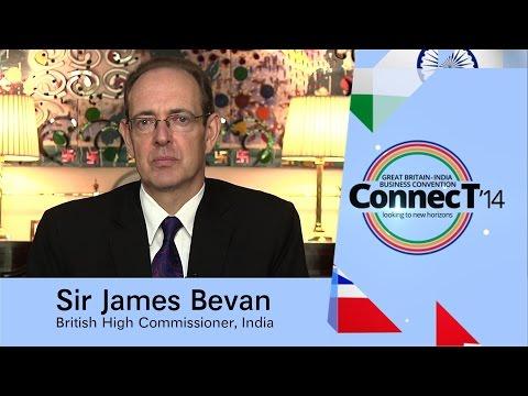 Sir James Bevan, British High Commissioner, India