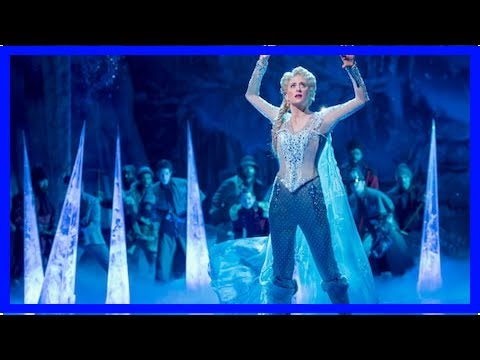 Frozen review, St James Theatre, Broadway - it's hard to hear Elsa for the applause