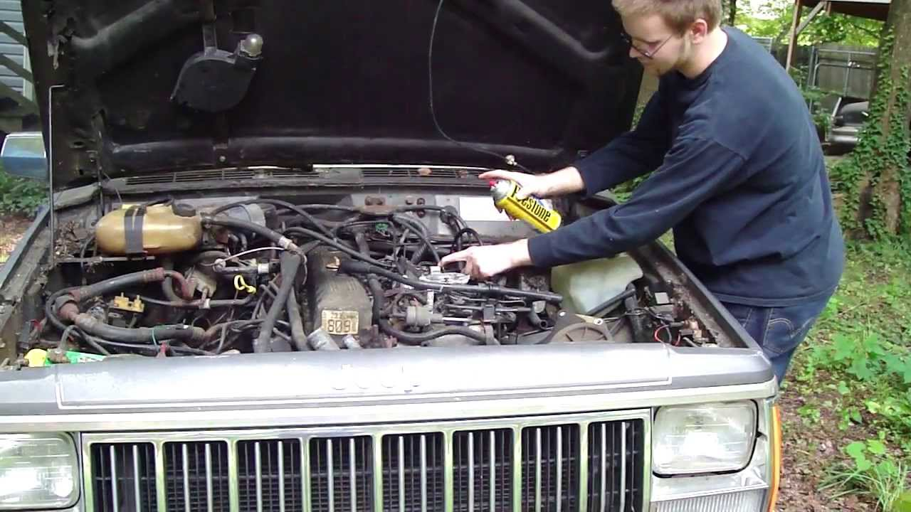 hight resolution of 1989 jeep cherokee laredo startup