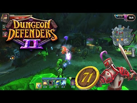 Chrome Enemies - Dungeon Defenders 2 Gameplay Ep 71