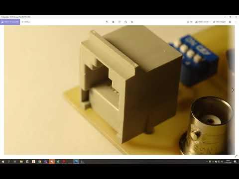kreiranje RJ45 in elementi 1 in 2