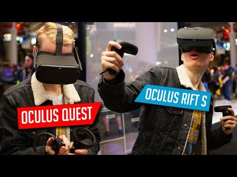 Oculus Quest and Oculus Rift S - Everything YOU Want To Know!