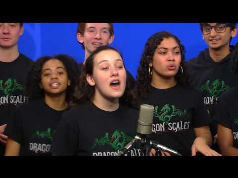 Dragon Scales perform 'Shark in the Water'