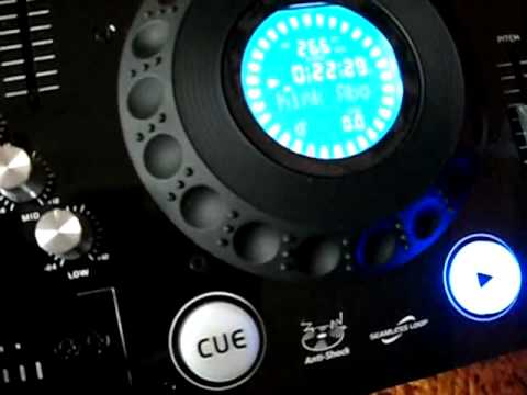 Konsola Dj Ibiza Sound Full Station CD/MP3