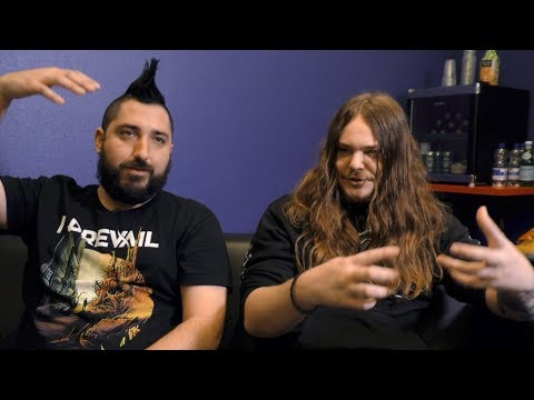Of Mice & Men interview - Aaron and Valentino (part 1)