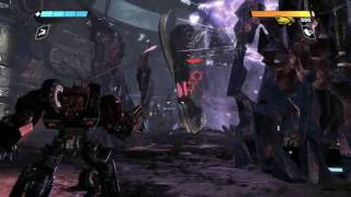 Transformers - War For Cybertron PC - Autobot Campaign Gameplay Part 3 - Maxed Out - HD