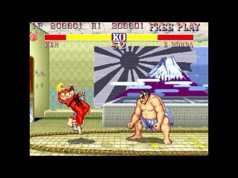Street Fighter 30th Anniversary Arcade - Street Fighter II Championship Edition [Full Play]