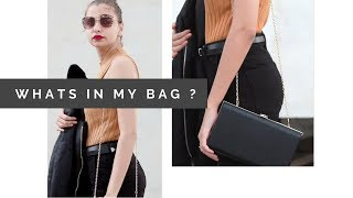 WHATS IN MY BAG ? | Tejaswi |