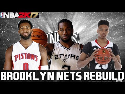 NBA 2K17 REBUILDING THE BROOKLYN NETS!!! 30 TO 1 REBUILD #30