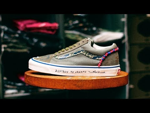 86e018620be Creating Custom Tiger Camo Vans with Mr. Sabotage | What's Your Custom -  YouTube