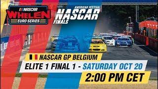 ELITE 1 Final 1   NASCAR GP BELGIUM 2018