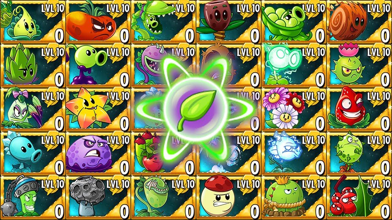 Plants VS. Zombies 2 | All Premium Plants Challenge \u0026 Power-Up! VS Gargantuar Zombies 2