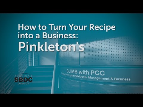 How to Turn Your Recipe into a Business: Pinkleton's