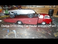 1960's Dodge D100 Drag Car Hauler and 1932 Ford Street Rod Gasser