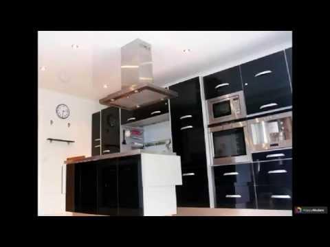 Натяжной потолок на кухне 39 вариантов