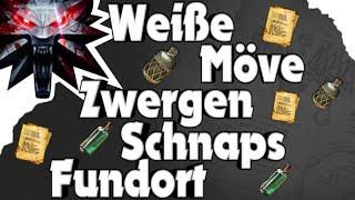 The Witcher 3 - Fundort Weiße Möve/ Zwergenschnaps Alchemierezept