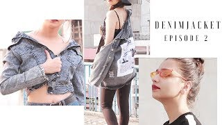 D e n i m  J a c k e t    How to style Denim Jacket  T e j a s w i   Episode 2 Giveaway month  