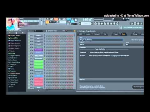 Instrumental Cheb Bilal - Darja Darja 2016 sur fl studio By Ali Miloudi