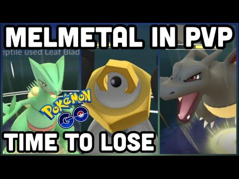 FIGHTING MELMETAL IN PVP & IT'S OP | POKEMON GO PVP BATTLES W/ SCEPTILE RHYPERIOR TOGEKISS & MORE thumbnail