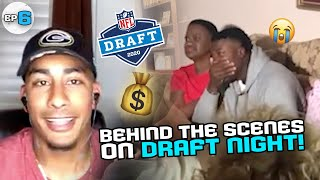 """""""I'm So NERVOUS!"""" We Spent DRAFT DAY With Packers QB Jordan Love and MORE! Who Will Go 1st ROUND!?"""