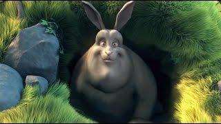 Веселый мультик Большой Кролик Бак / Big Buck Bunny