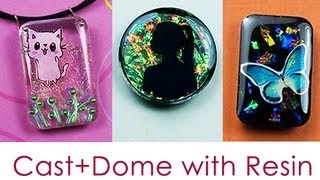 Resin Jewelry - Doming Up!  by Little Windows